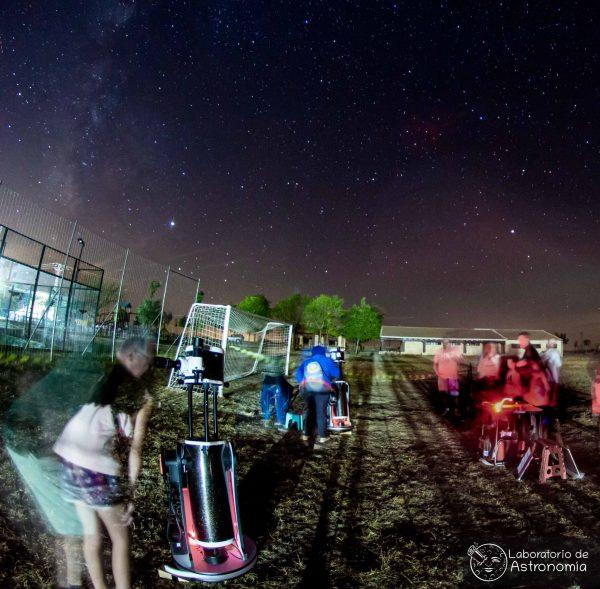 astronomía cercana en Segovia con telescopios