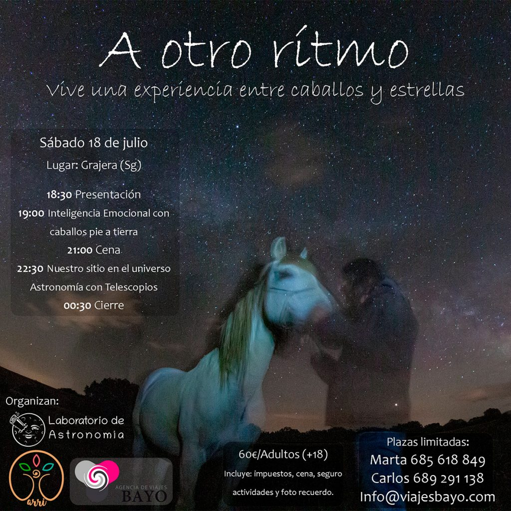 astronomia y caballos
