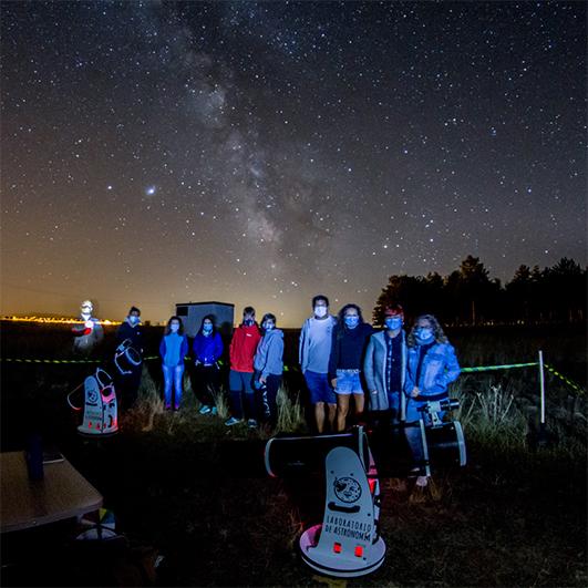 astronomia segura covid 19 mascarillas
