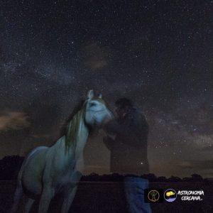 experiencia caballos y astronomia