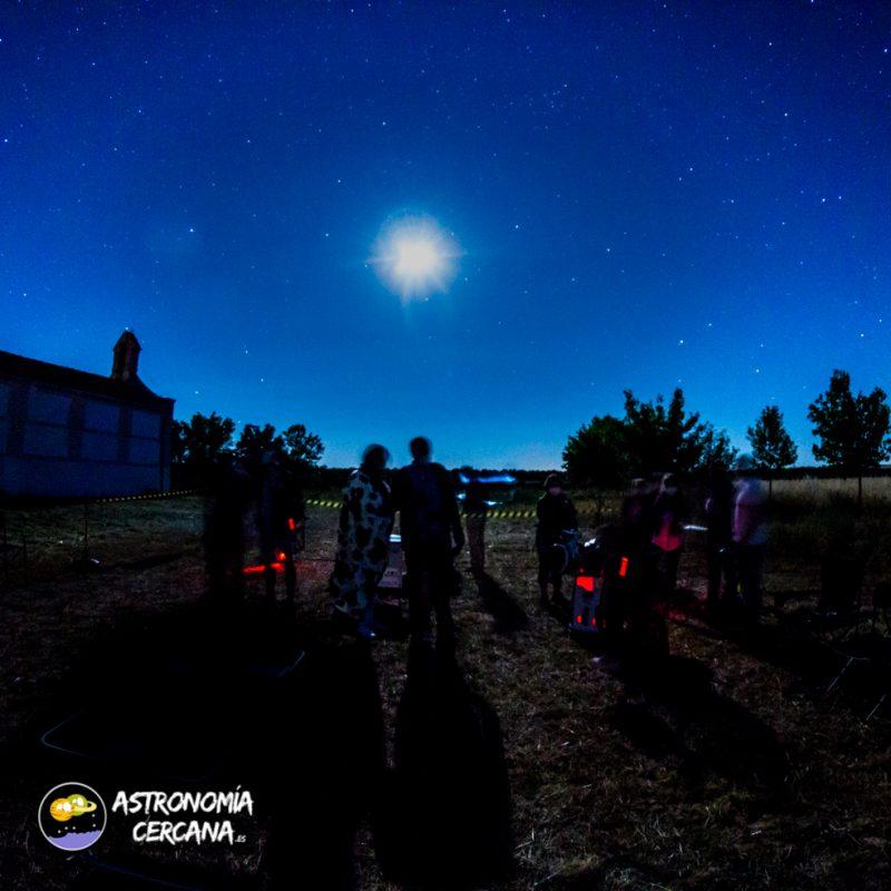 astronomia en la noche perfecta
