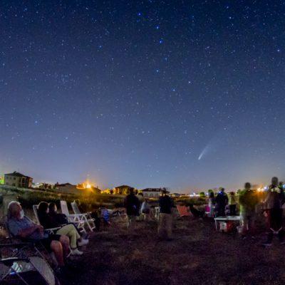 eventos astronomía pueblos segovia